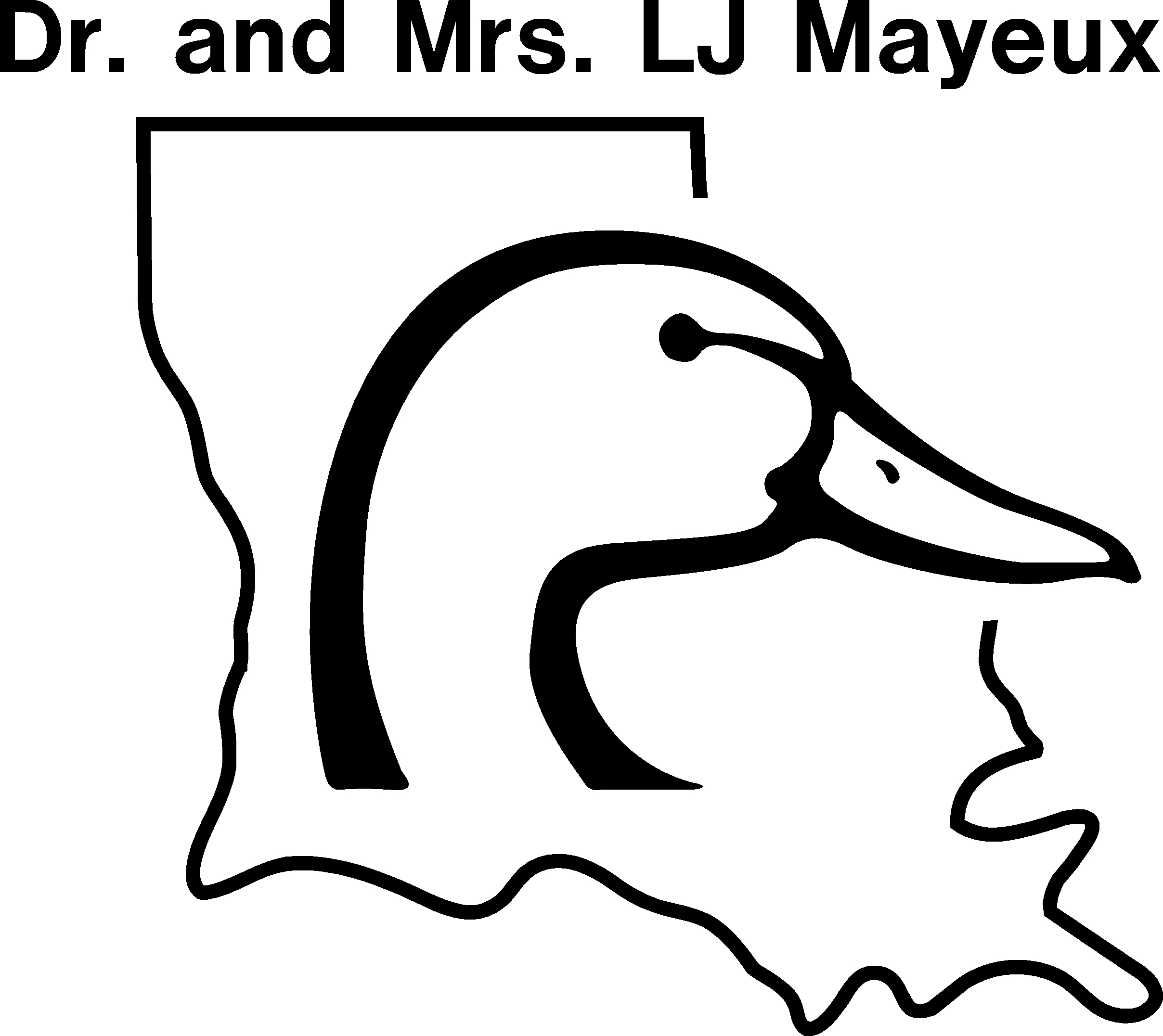 Dr. and Mrs. LJ Mayeux