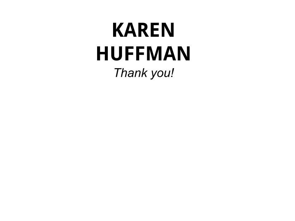 DONATIONS - KAREN HUFFMAN - Logo