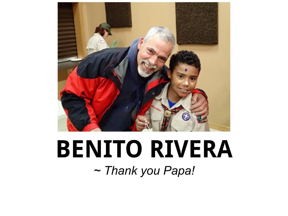 DONATIONS - Benito Rivera - Logo