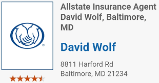 Hole Sponsor - Dave Wolf- Allstate Ins. - Logo