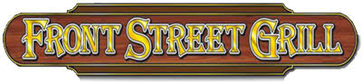 RAFFLE PRIZES - Front Street Grill - $100 gift card - Logo