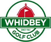 RAFFLE PRIZES - Whidbey Golf Club - 2ea Round of golf for TWO - $200 value - Logo