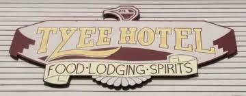 RAFFLE PRIZES - The Tyee Restaurant and Motel - T-shirt $25 value - Logo
