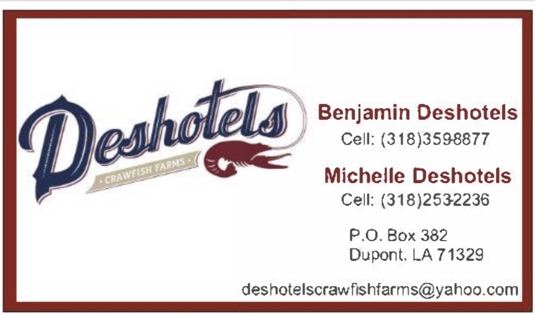 Deshotels Crawfish Farms