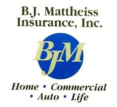 Hole Sponsor - B. J. Mattheiss Insurance - Logo