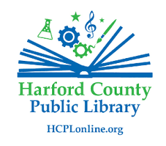 On Course Contest Sponsor - Harford County Public Library - Logo