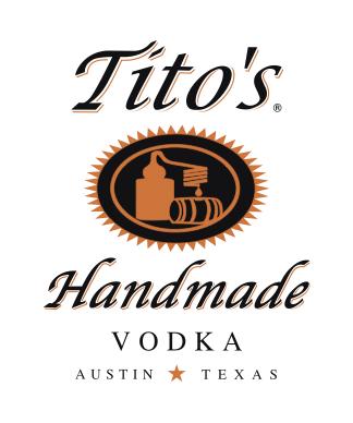 Tee Gift Sponsor - Titos Vodka - Logo