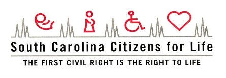 Big Break Contest Sponsor- $500 - South Carolina Citizens for Life - Logo