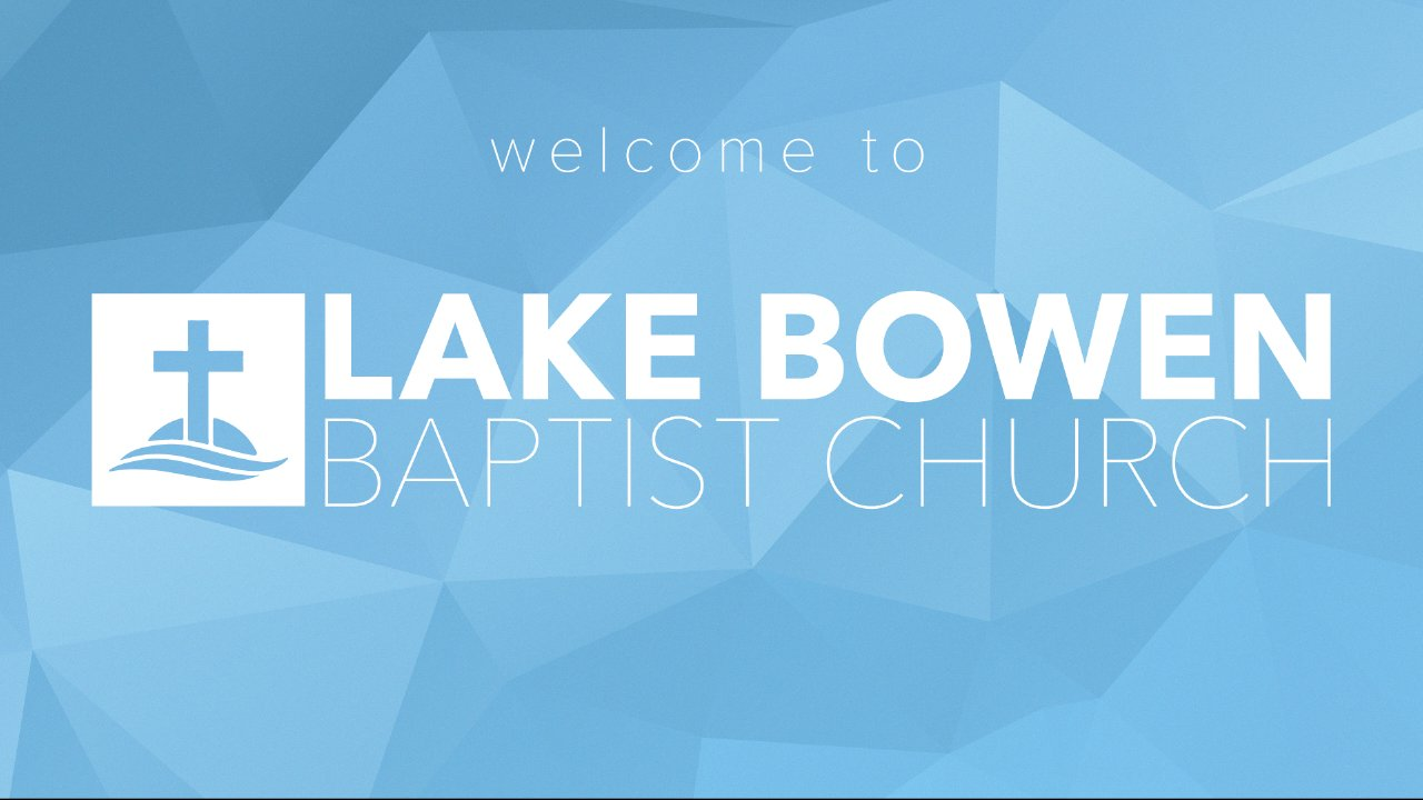 Bronze Hole Sponsor- $100 - Lake Bowen Baptist Church - Logo