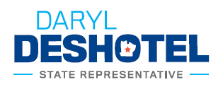 Lunch Sponsor - Daryl Deshotel State Representative - Logo
