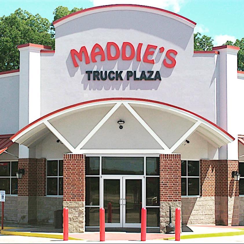 Hole Sponsor - Maddie's Truck Plaza - Logo