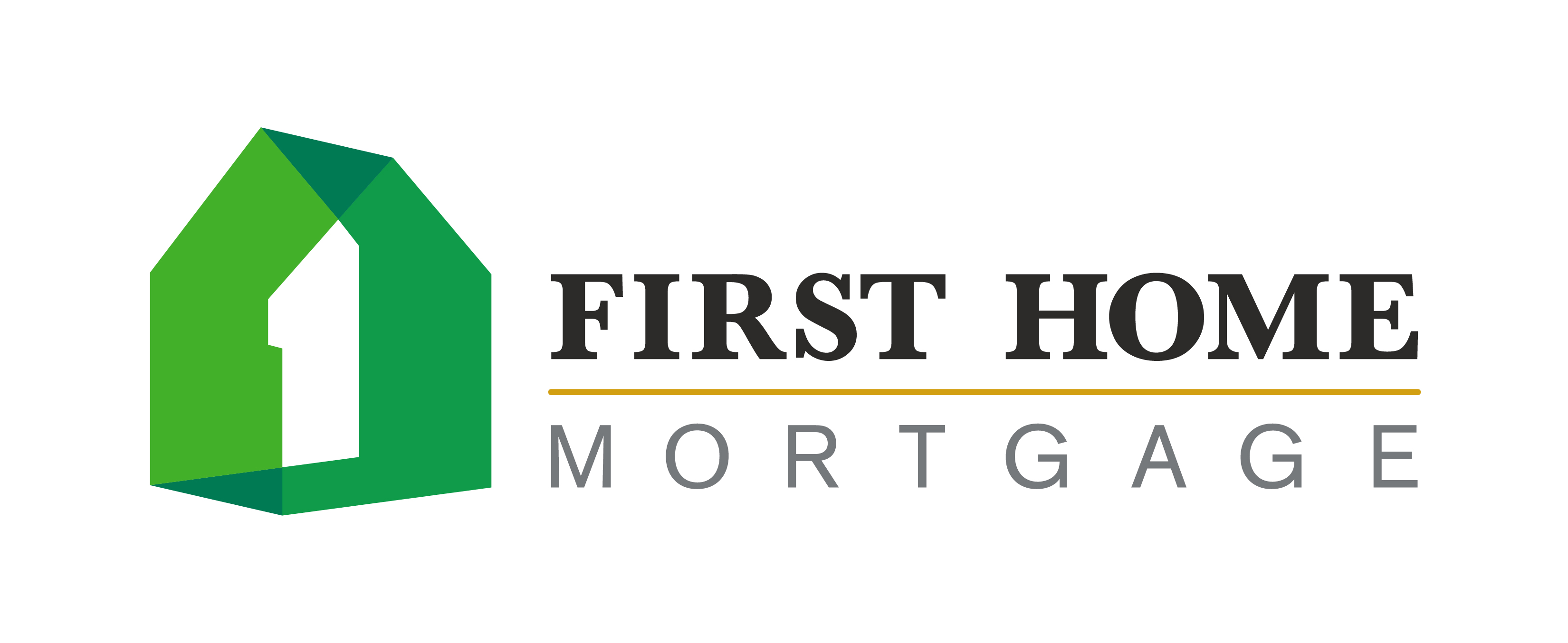 Beverage Cart - First Home Mortgage  - Logo