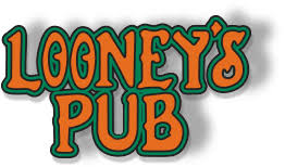 Drink Cart Sponsor - Looney's Pub - Logo