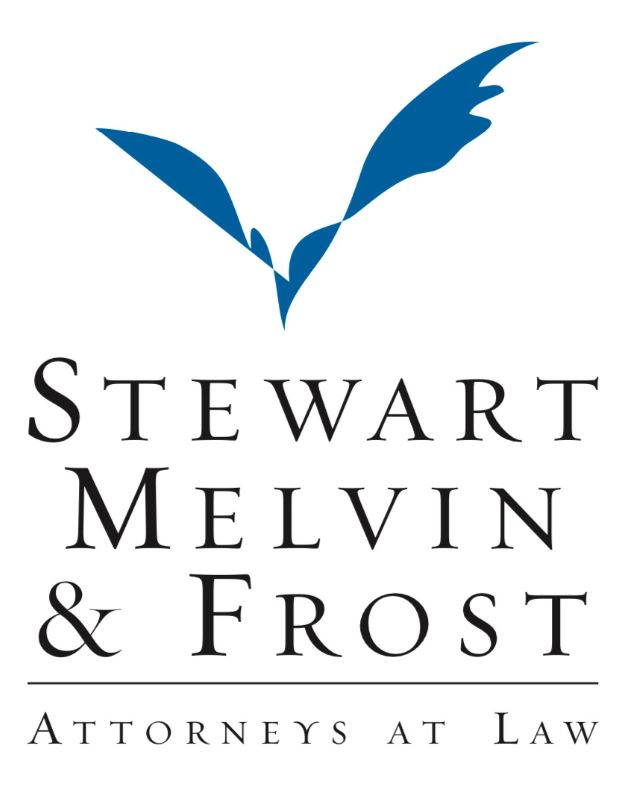 "Hole Sponsor ""Sixth Squad"" - Stewart, Melvin, & Frost Attorneys at Law - Logo"