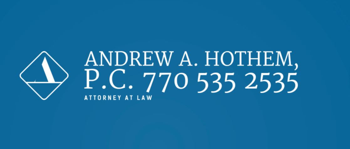 "Hole Sponsor ""Sixth Squad"" - Law Offices of Andrew A. Hothem - Logo"