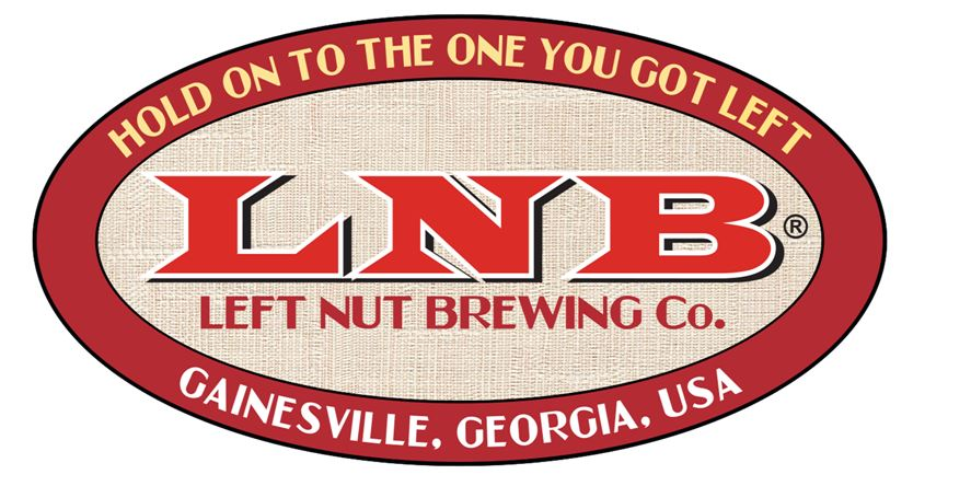 "Hole Sponsor ""Sixth Squad"" - Left Nut Brewing Co. - Logo"