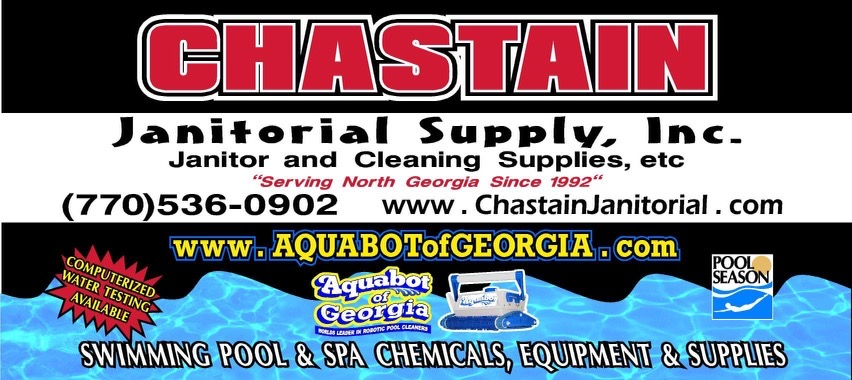"Hole Sponsor ""Sixth Squad"" - Chastain Janitorial - Logo"