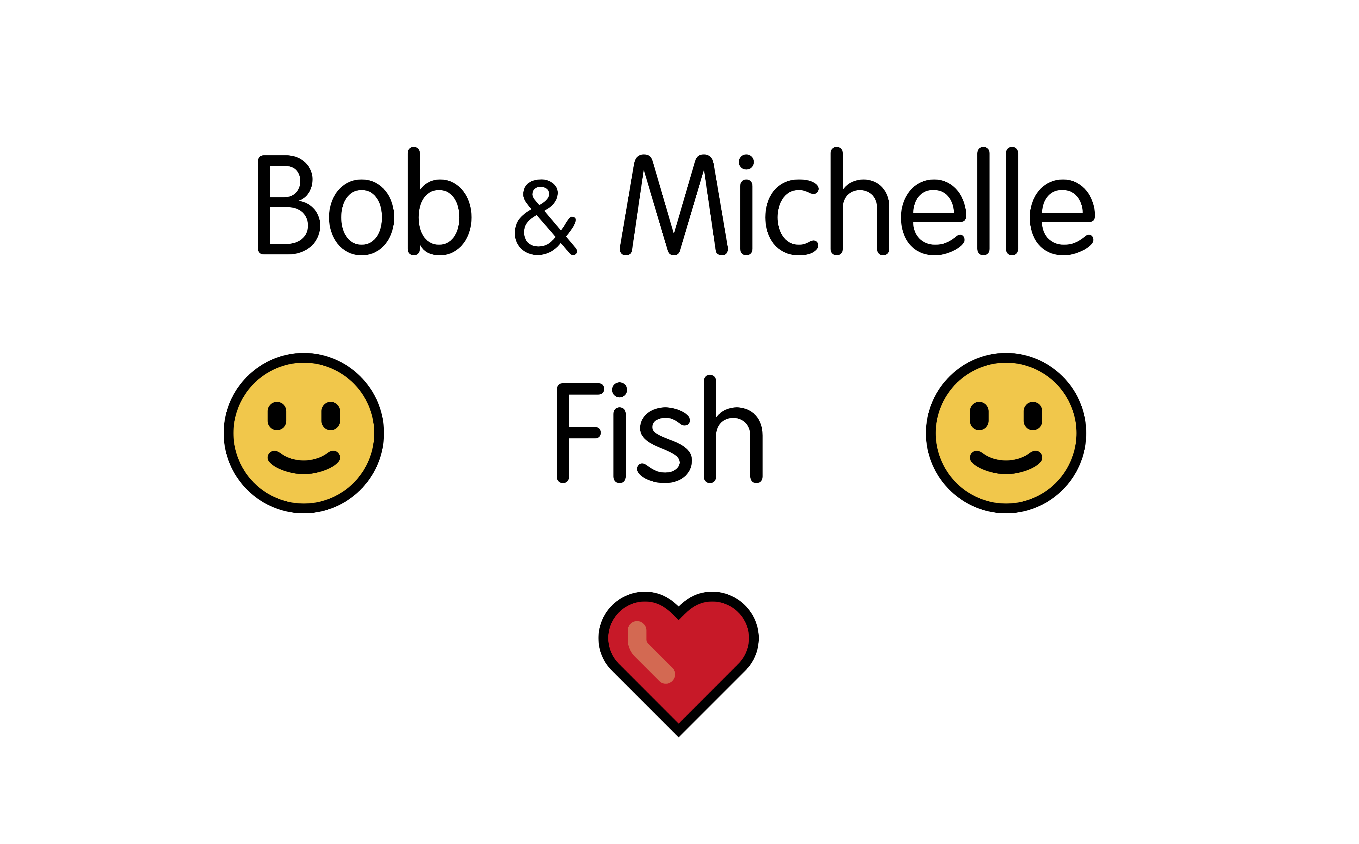 Bod and Michelle Fish