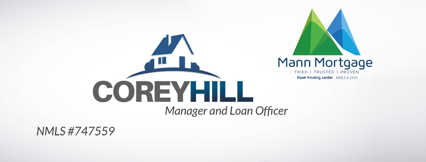 HOLE SPONSOR - COREY HILL - MANN MORTGAGE - Logo