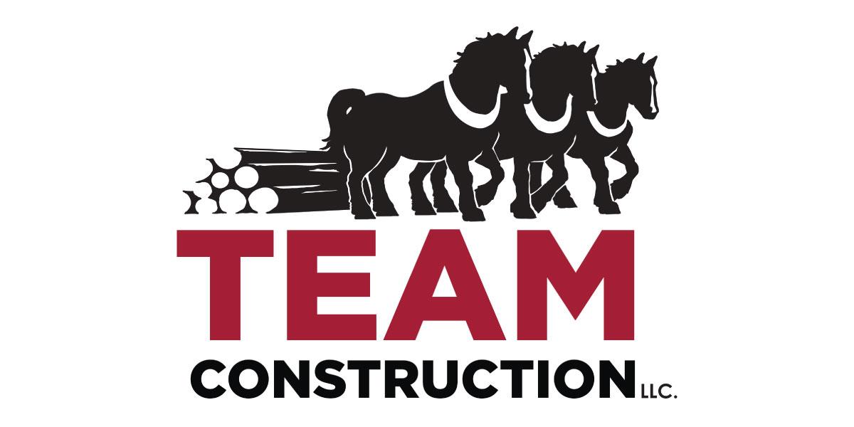 Water Sponsor  - Team Construction  - Logo
