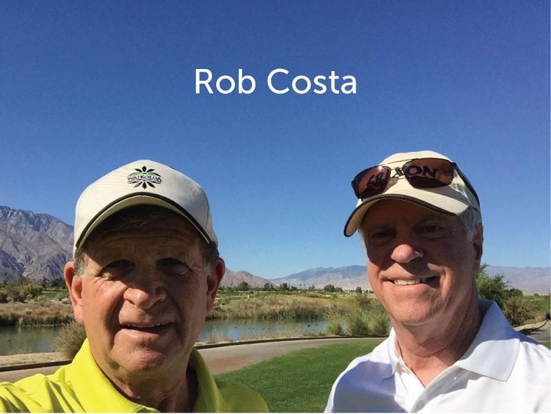 Espresso Cart Sponsor  - Rob and Marcia Costa - Logo