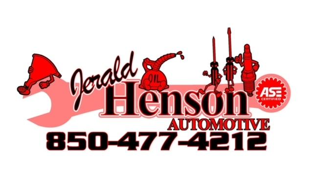 Bronze Level Sponsor - Jerald Henson Automotive Repair - Logo