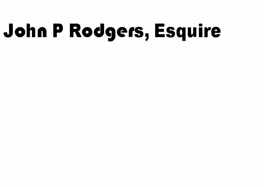 John P. Rodgers, Esquire