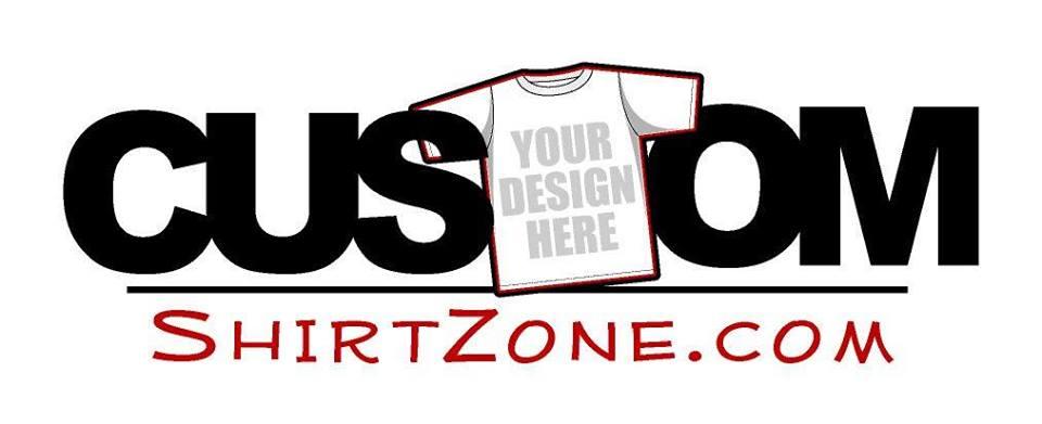 Title Sponsor - Custom Shirt Zone - Logo