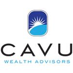 Golf Ball Sponsor - CAVU Wealth Advisors - Logo