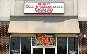 Hole Sponsor - Gilbert Coin Exchange - Logo