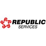 Polo Shirt Sponsor - Gold - Republic Services - Logo