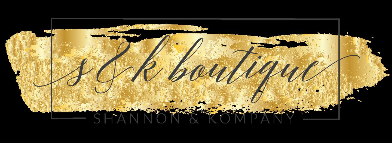 Bronze Level Sponsor - S & K Boutique - Logo