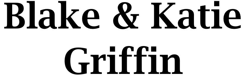 Platinum Sponsor - Blake & Katie Griffin - Logo