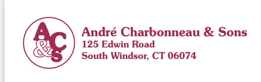 Hole in One Sponsor  - Andre Charbonneau & Sons LLC - Logo