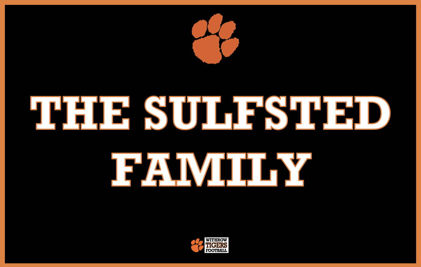 Eagle Sponsor - The Sulfsted Family - Logo