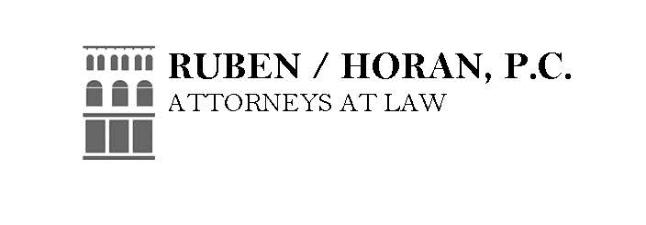 Tee Sponsor  - Ruben / Horan, P.C. Attorneys at Law - Logo