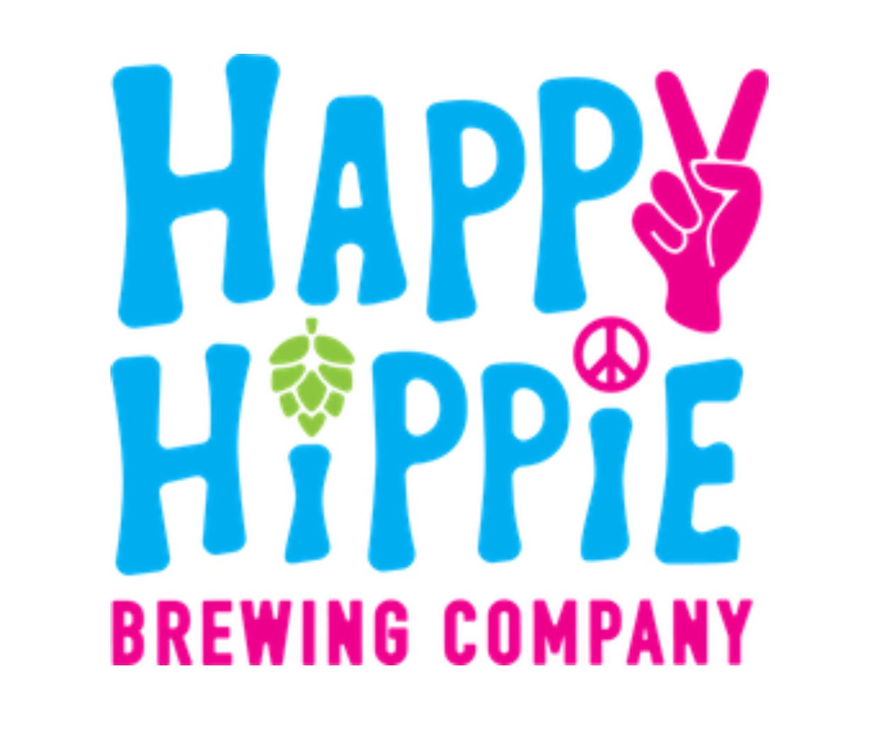 $500 Make it a Double Keg Sponsor - Happy Hippie Brewing Company  - Logo