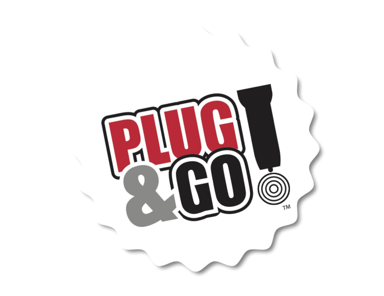 Golf Cart Sponsor - Plug & Go - Logo