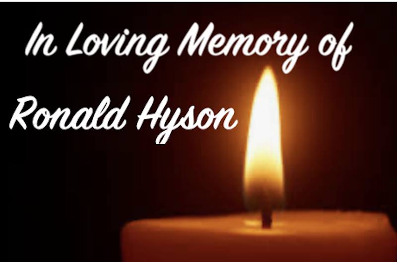 In Memory Of  (Name) Sponsor $25 - Ralph Hyson - Logo