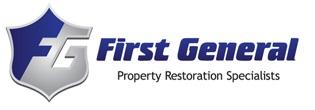 Tee Sponsor  - First General Property Restoration Specialties - Logo