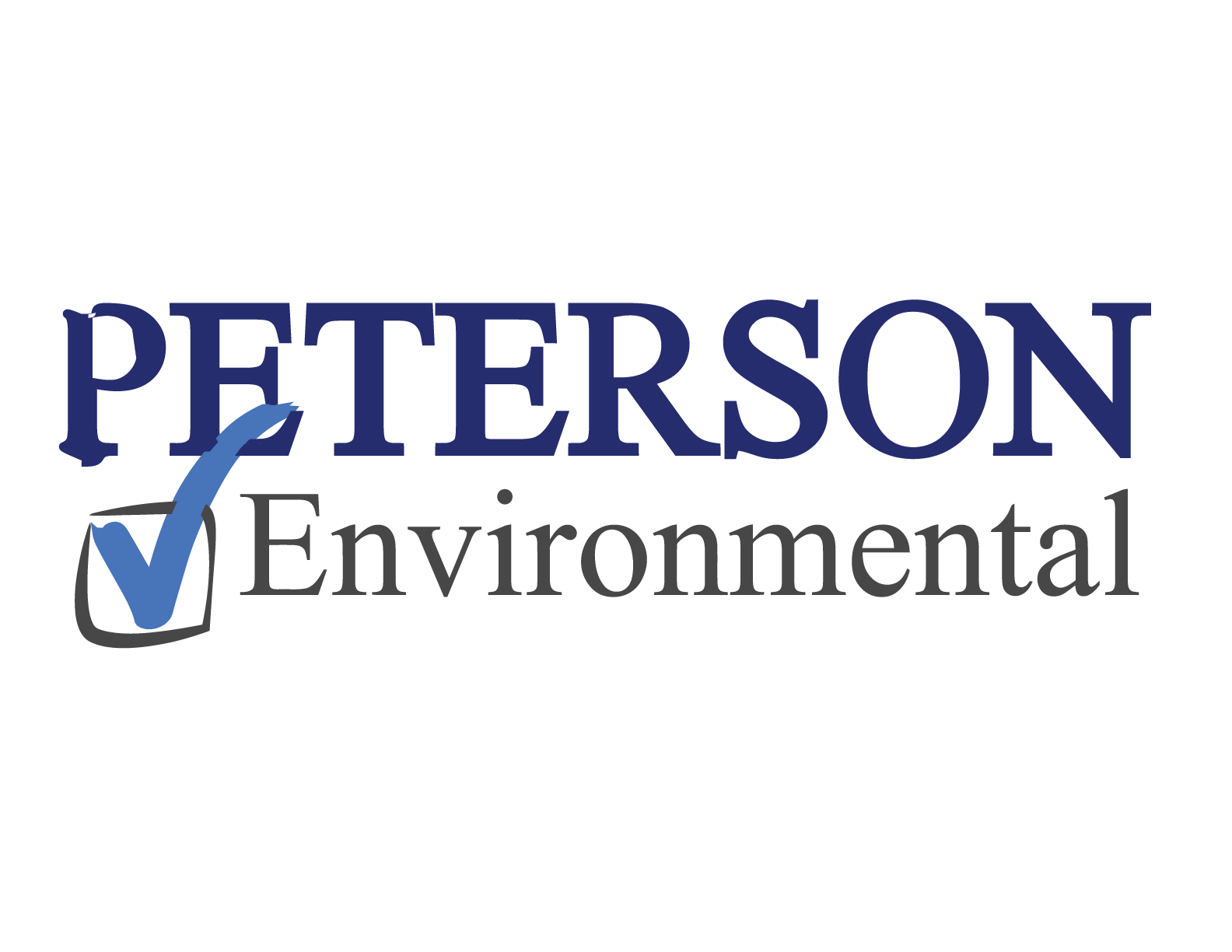 Premier Sponsor $500 - Peterson Environmental - Logo