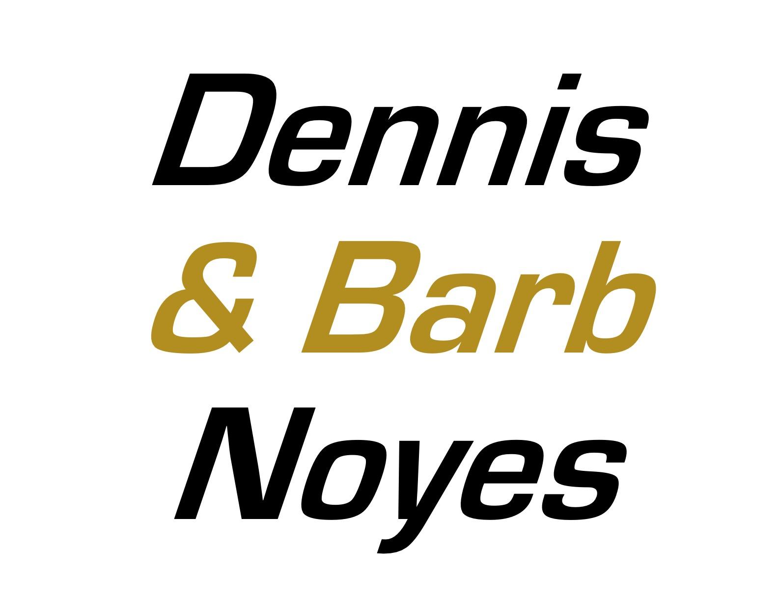 Hole Sponsors - Dennis & Barb Noyes - Logo