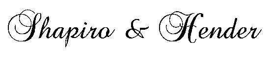 Tee Sponsor - Shapiro and Hender - Logo