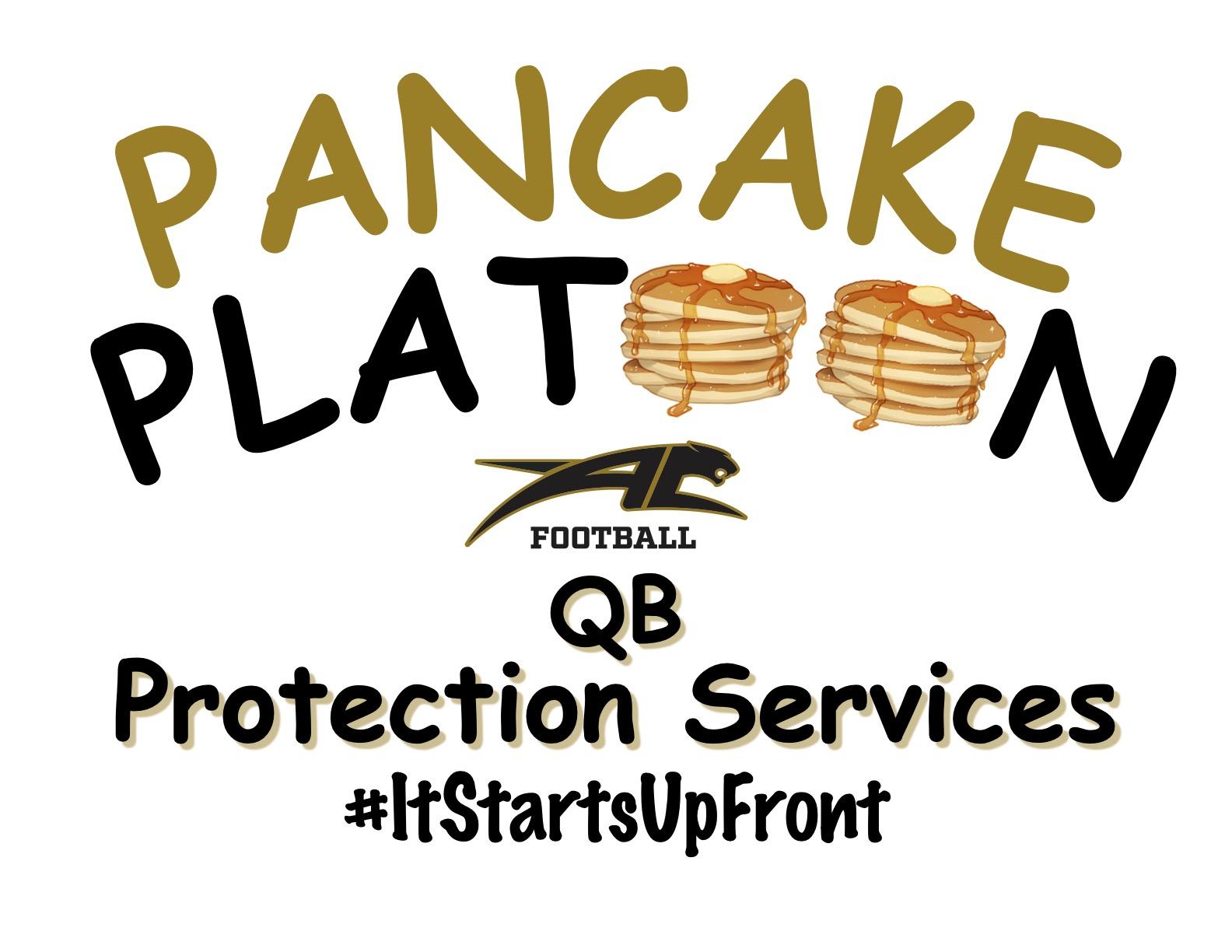 Hole Sponsors - Pancake Platoon - Logo