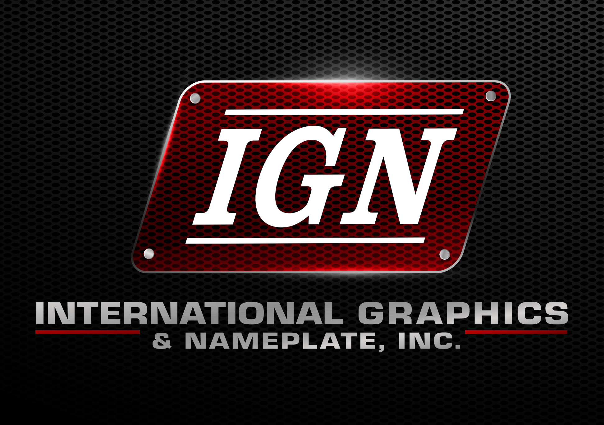 Official Signage and Printing Partner - International Graphics and Nameplate - Logo