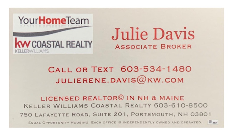 Business  Sponsor $100 - Julie Davis - Logo