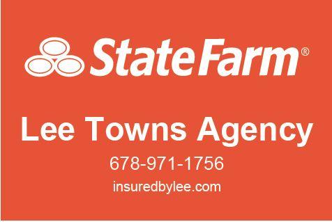 """Six Squad"" - Hole Sponsor - Lee Towns - State Farm - Logo"
