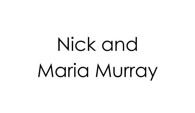 Nick and Maria Murray