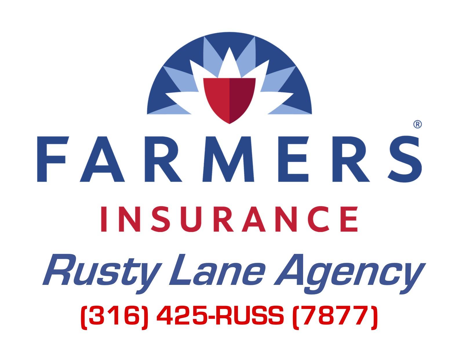 Hole Sponsors - Farmers Insurance-Rusty Lane - Logo