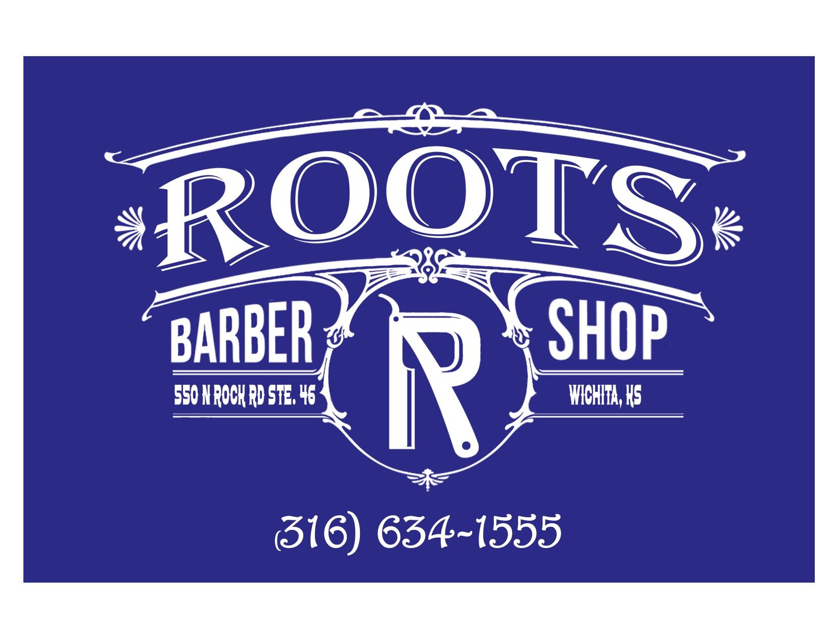 Prize Sponsors - Root's Barber Shop - Logo